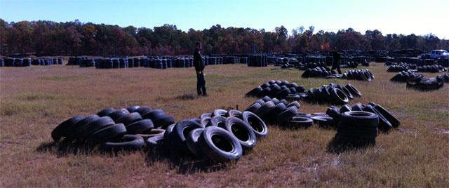 Team Exomotive Bands Tires at Atlanta Motorsports Park
