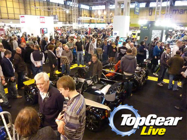 RTR shows at Top Gear Live at NEC Birmingham