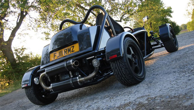 Take a ride in a Tony's CBR-powered MEV Rocket