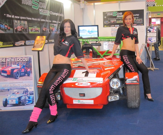 AutosportInternational - MEV Exocet - MX150R- Booth Professionals