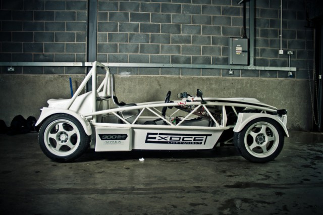 Exocet Lightweight to Compete in 2012 Time Attack Series