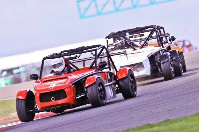 Exocet racing action at Silverstone