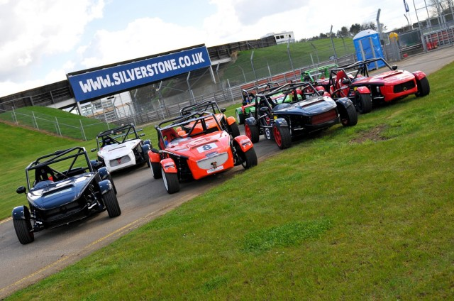 Eight Exocets on the grid at Silverstone