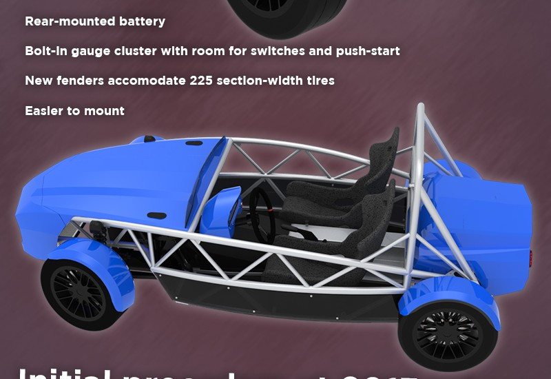Announcing the all new 2014 Exocet bodywork
