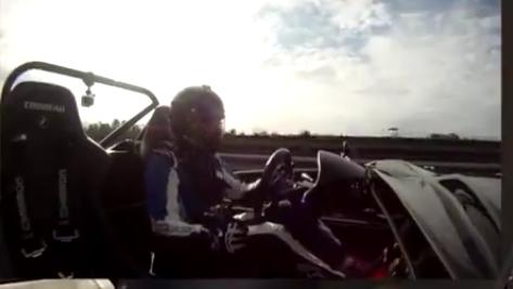 Exomotive Exocet at Atlanta Motorsports Park driven by Jeremy Porter