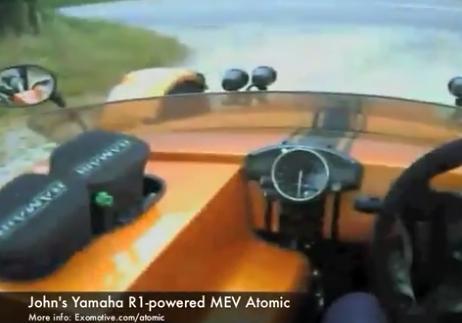 Helmet cam for the MEV Atomic