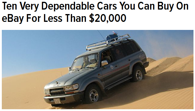 Oh hey there, Jalopnik!