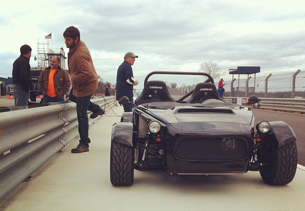 Exocet at Atlanta Motorsports Park.