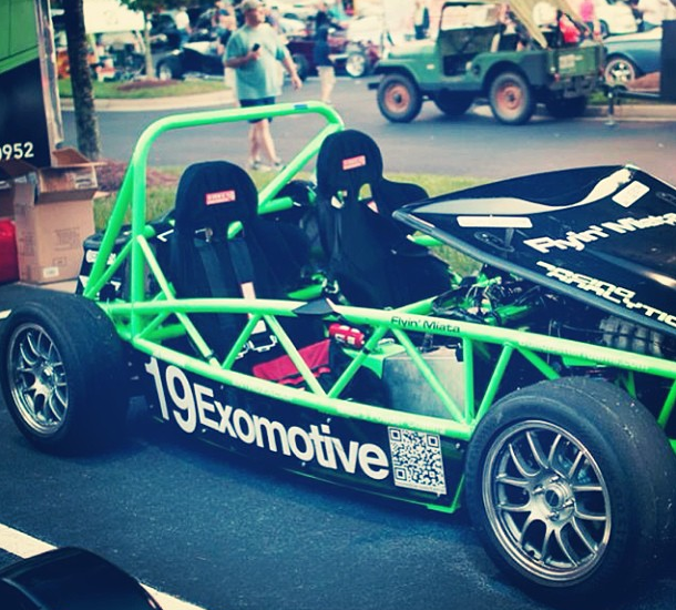 XP-3, the Sport Exocet, makes an appearance at Caffeine and Octane