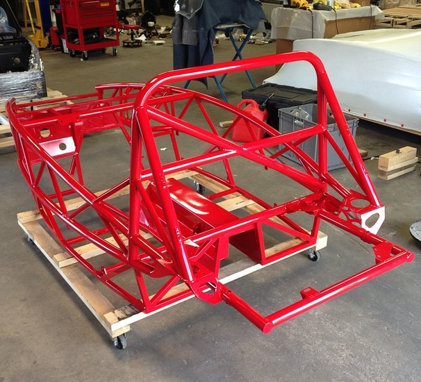 Future V8 in Racer Red!