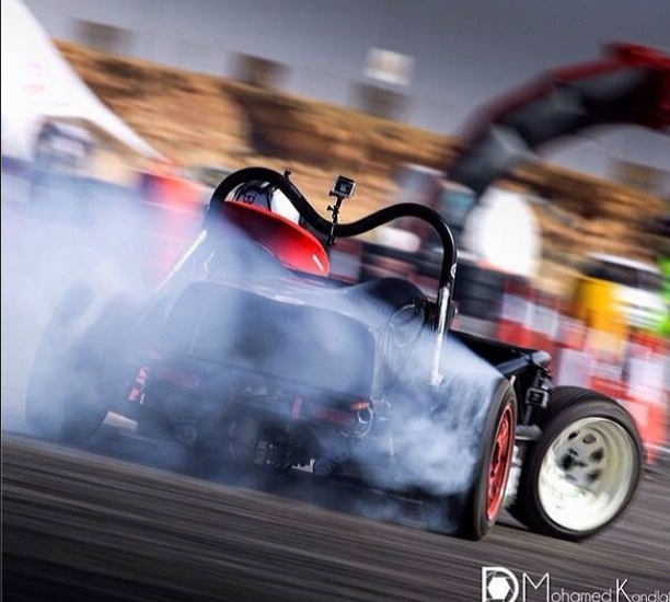More drifting action!