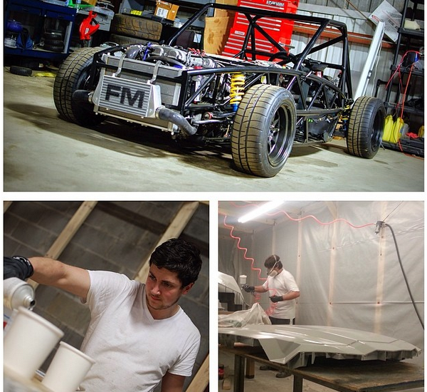 Final stages of new bodywork