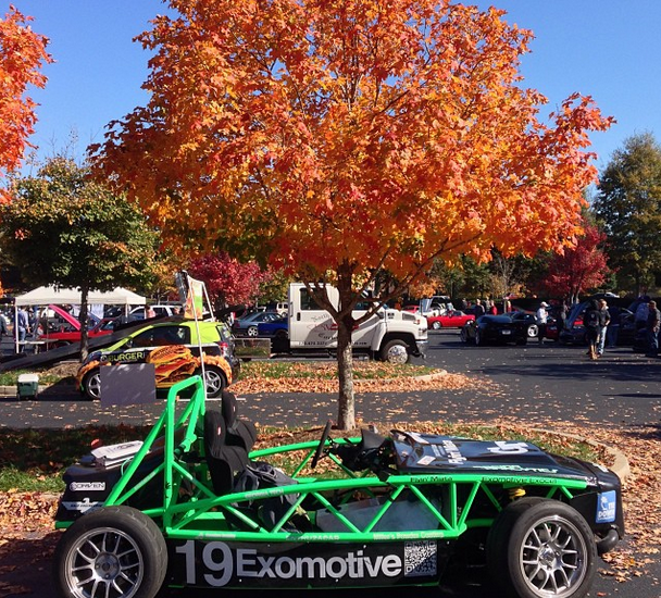 Nothing like Caffeine and Octane in the fall