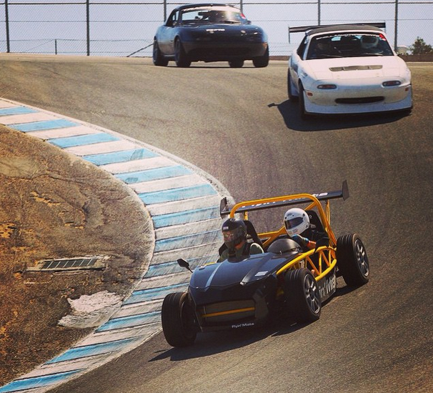Track day Tuesday!