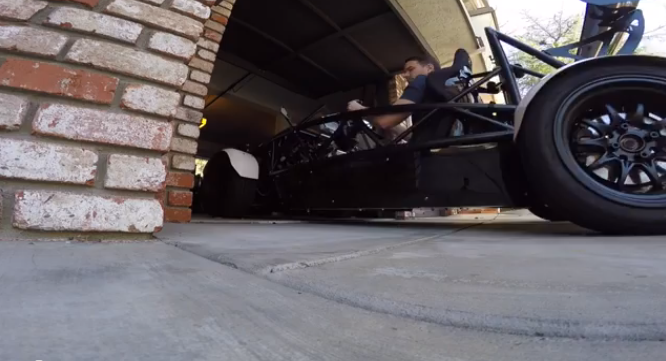 Geoff takes his Exocet out for a spin!