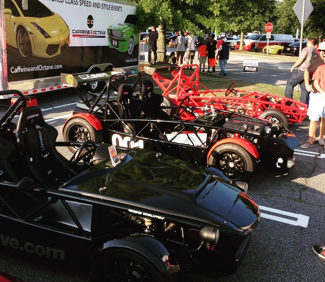 Another great day at Caffeine and Octane