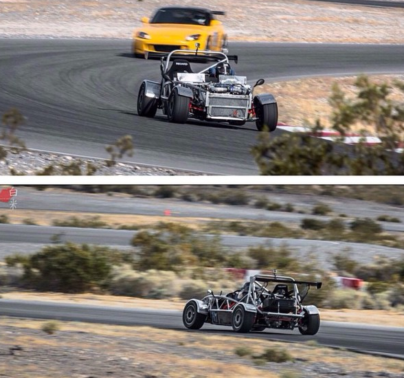Track day for the Exocet