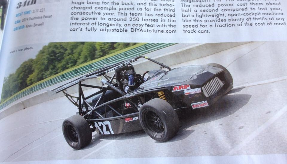 XP-4 feature of Grassroots Motorsports UTCC coverage