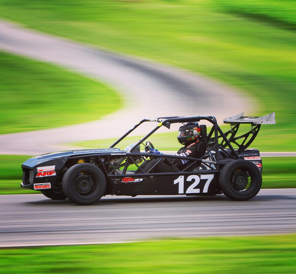 Kevin tearing it up at VIR