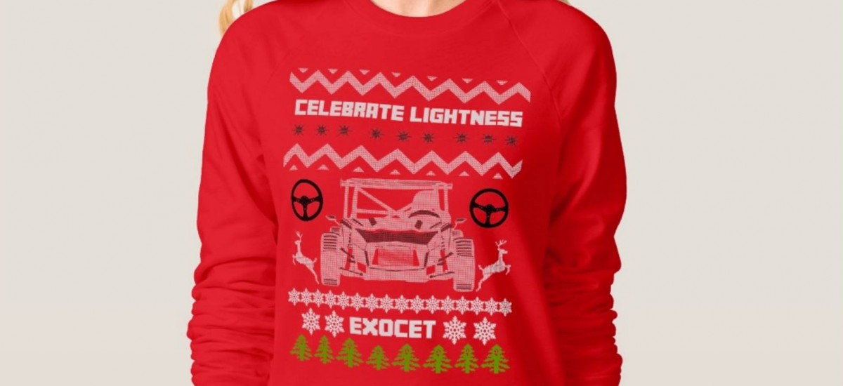Exomotive holiday gear!