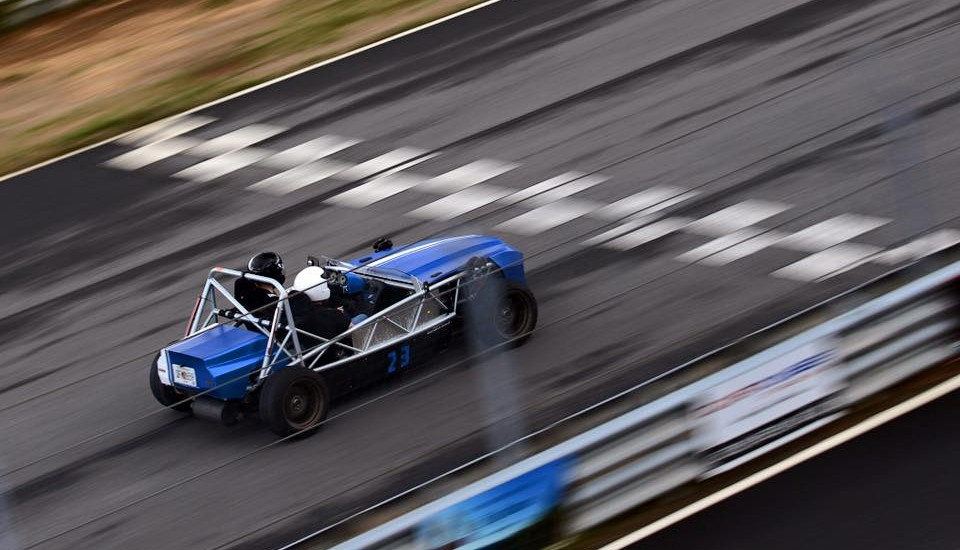 Another Exocet build hits the track!