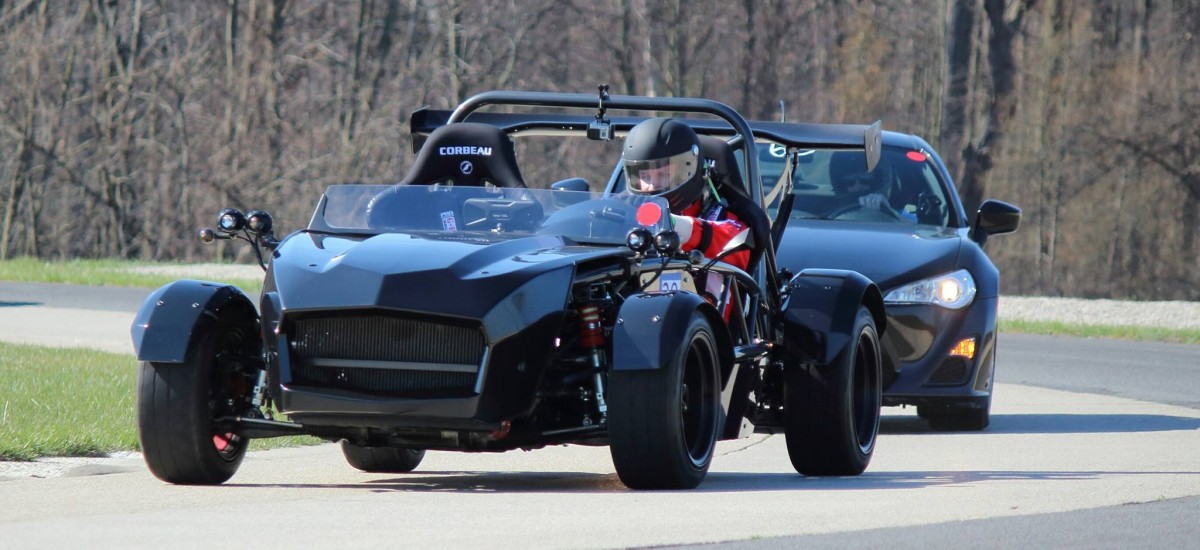 Track day fun in an Exocet Sport
