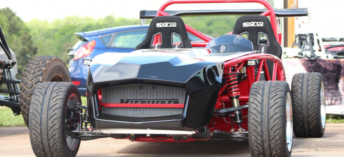 The newest Exocet is prepping for the Skidpad Challenge