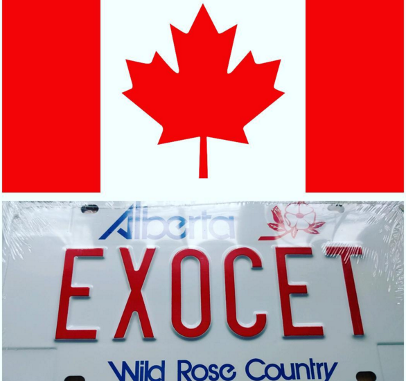 First Canadian registered Exocet hits the streets!