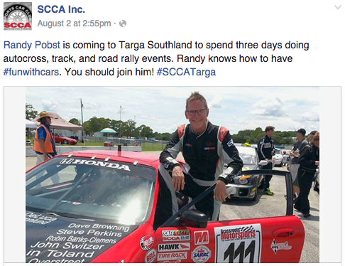 Follow the journey of the Exocet during  Targa Southland