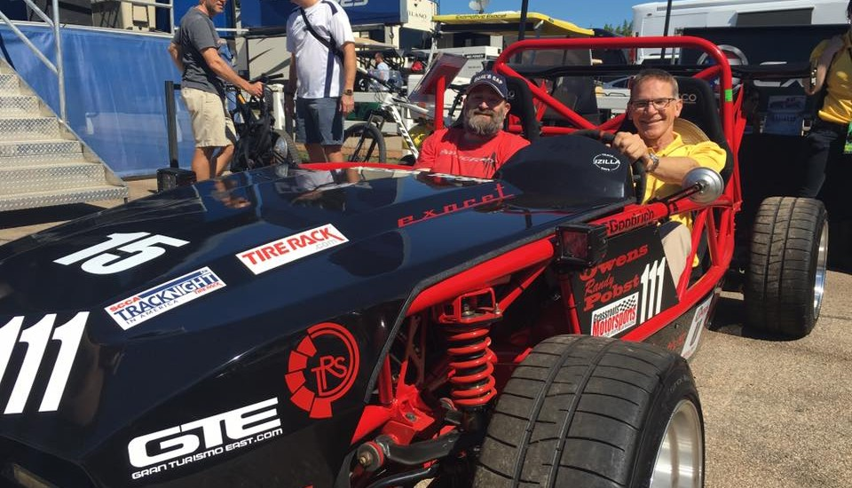 Randy Pobst loves this Exocet!