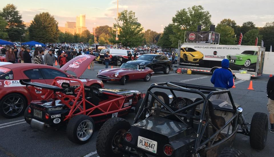 Huge turn out for Caffeine and Octane!