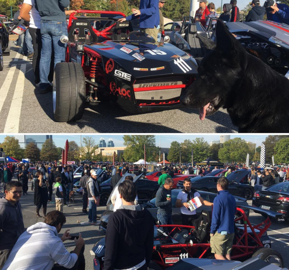 We're hanging out at Caffeine and Octane!