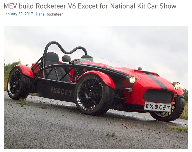 Rocketeer V6 Exocet