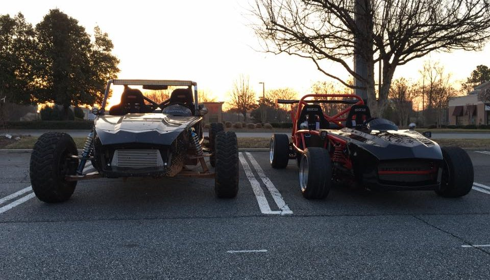 Another beautiful morning at Caffeine and Octane