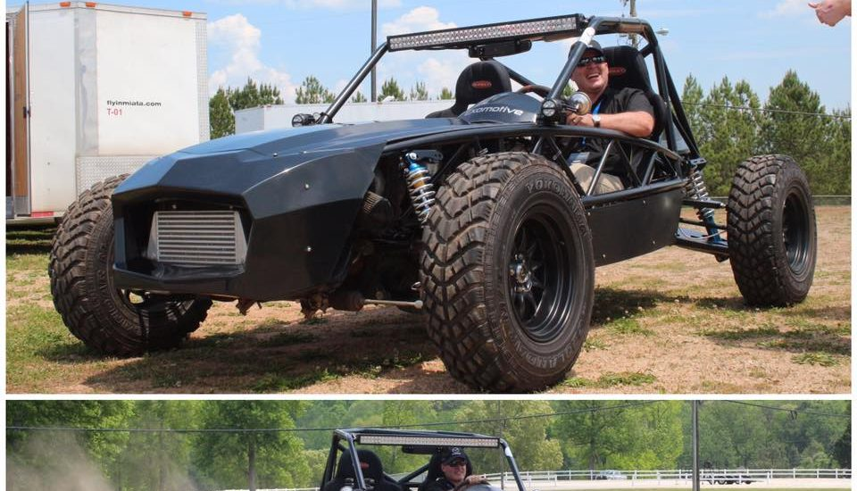 Keith seems to love the Exocet Off-Road!