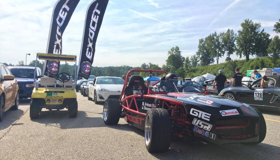 The track is hot at Gridlife!
