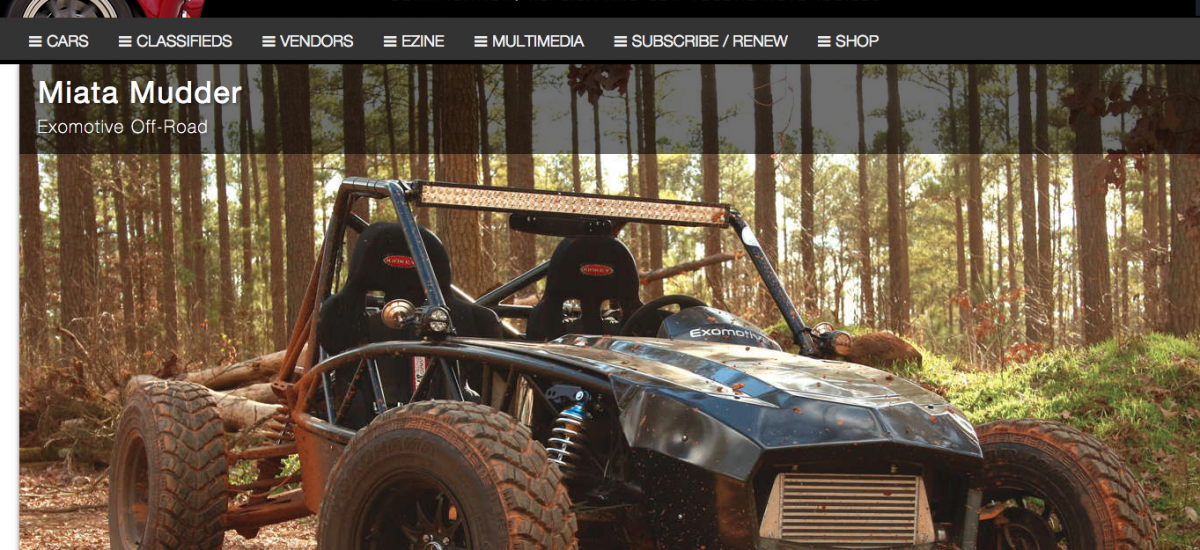 Exocet Off-Road feature in Reincarnation