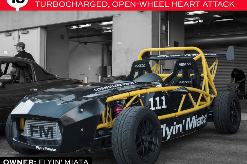 Exocet feature in Road & Track