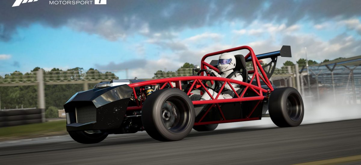 Exomotive Exocet Launches in Forza Motorsport 7